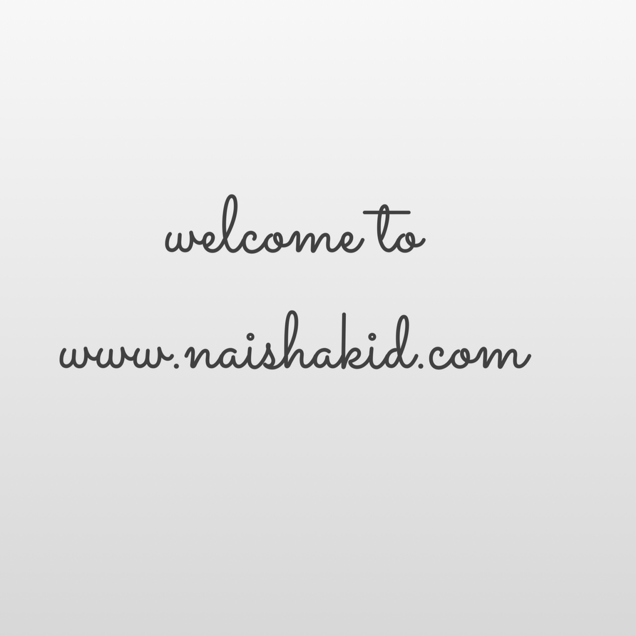 Welcome to naishakid.com