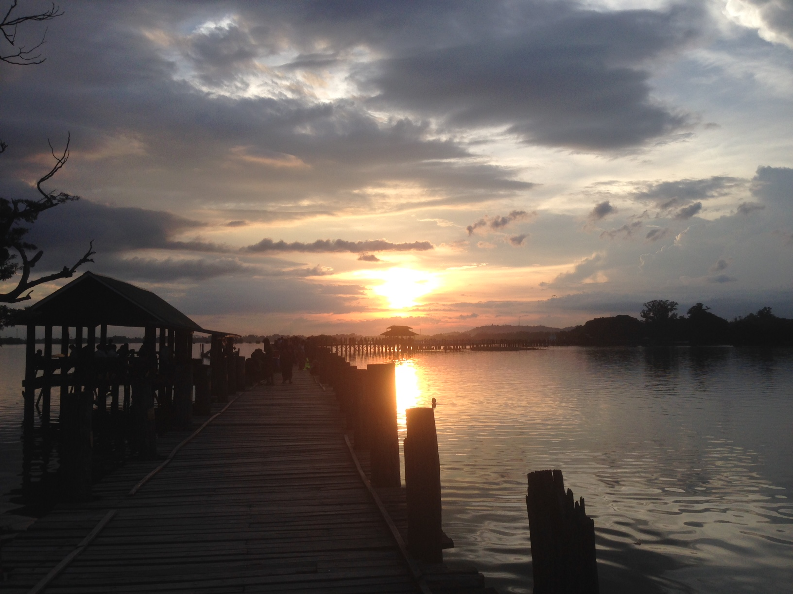 Sunset U-Bein Bridge