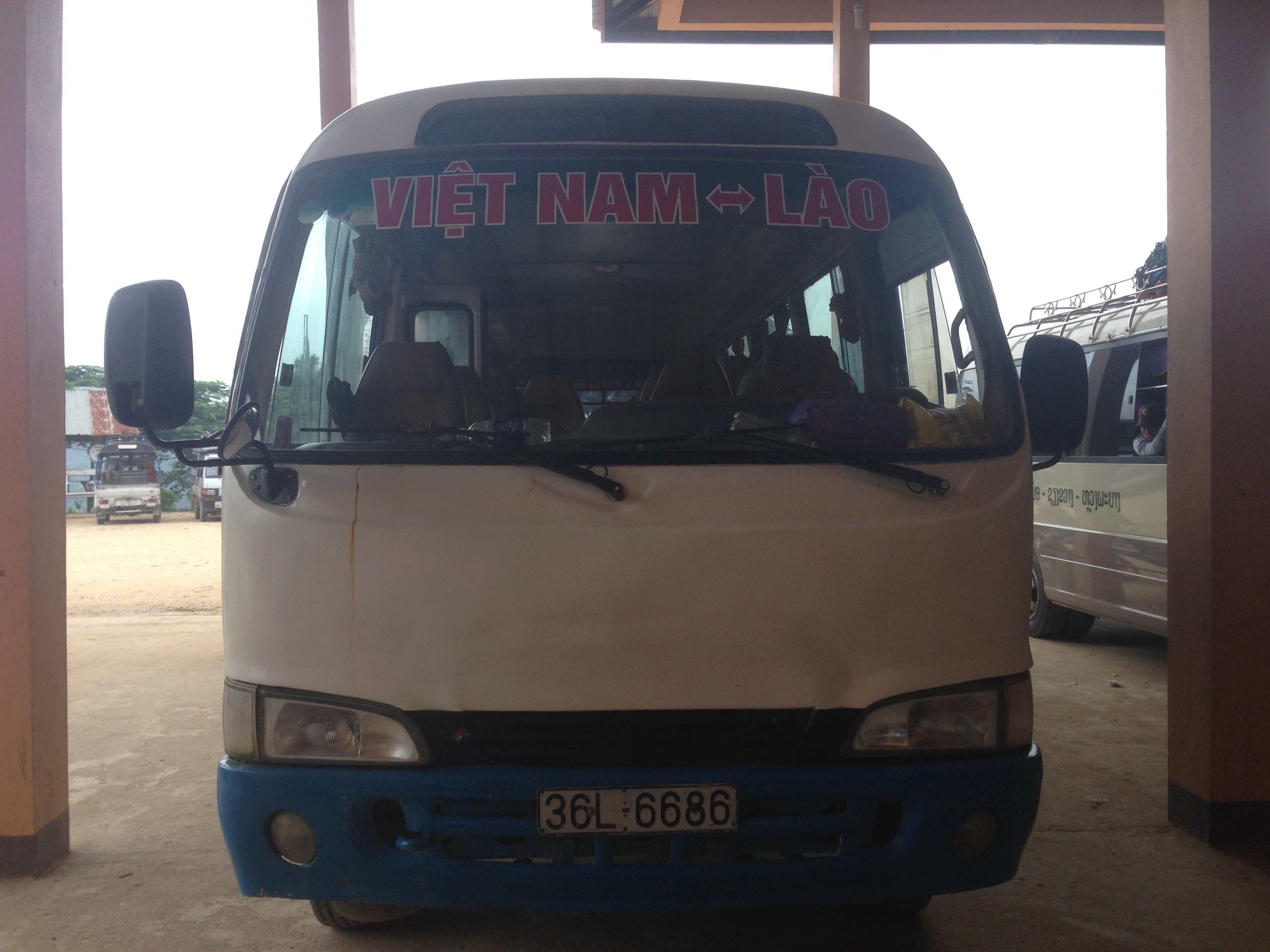 28 Hours Ride Between Lao and Vietnam